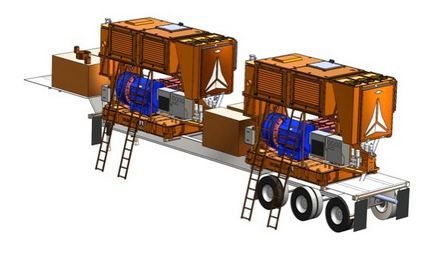 First use of LNG to power fracturing pumps | Process Engineering