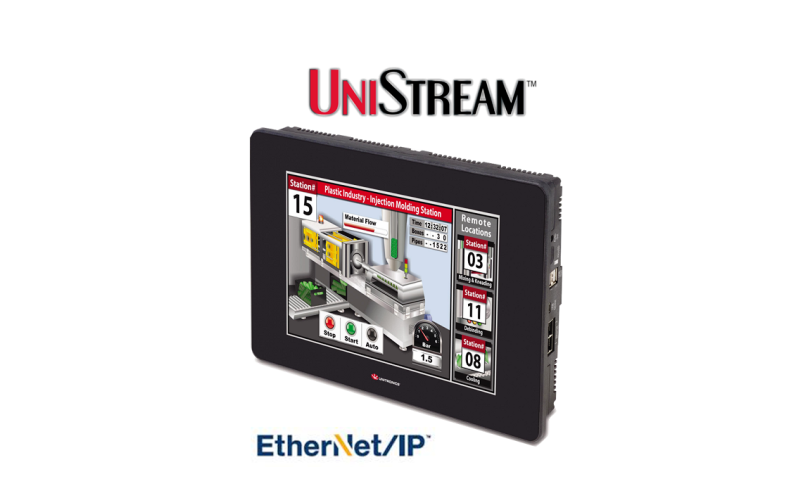 PLC + HMI now with EtherNet/IP support   Process Engineering