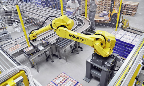 Case study: robots help company get out of safety jam