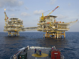 Premier Oil North Sea platform