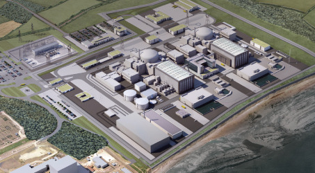 EDF Hinkley Point C nuclear power wide