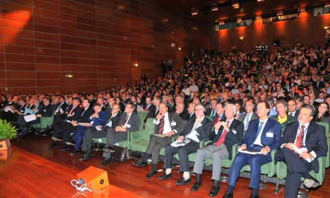 Delegates at the launch of EDF Fenice centre