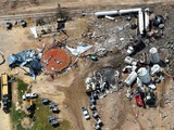 West Fertilizer explosion site