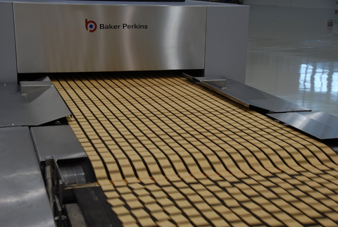 Baker Perkins food processing biscuits