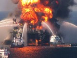 BP's Deepwater Horizon explosion in the Gulf of Mexico in 2010