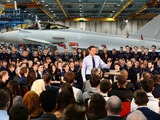 David Cameron meets apprentices at BAE Systems