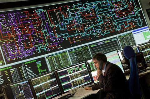 National Grid control centre
