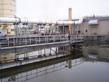 A wastewater treatment plant in Oregon.