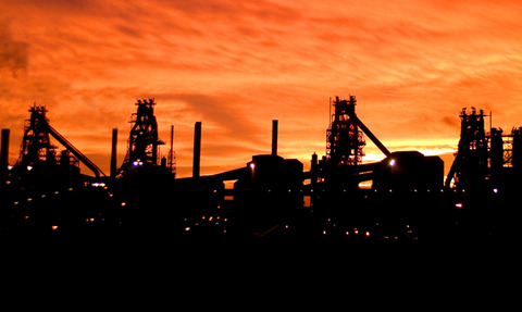 Tata Steel Scunthorpe works