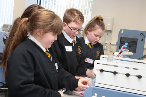 Bibby scientific give school children an experimental experience at british science week