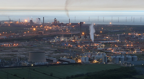 Teesside process industry cluster CCS